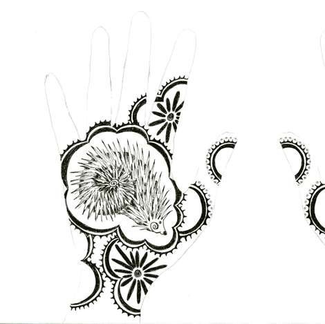 Jessie's Hand fabric by joonmoon on Spoonflower - custom fabric