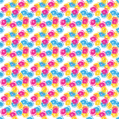 itsy bitsy posies fabric by rockpaperfabric_design on Spoonflower - custom fabric