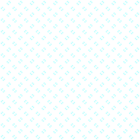 Simple speckles in pale, rich turquoise on white fabric by bargello_stripes on Spoonflower - custom fabric
