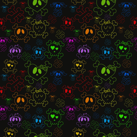 ditsy3 fabric by jnifr on Spoonflower - custom fabric