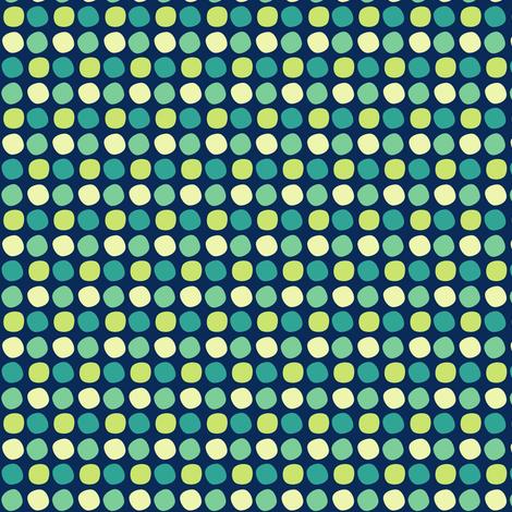 Polka Spots! - Night Falls Softly - © PinkSodaPop 4ComputerHeaven.com fabric by pinksodapop on Spoonflower - custom fabric