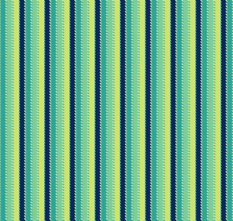 Zigzag Stripes - Night Falls Softly - © PinkSodaPop 4ComputerHeaven.com fabric by pinksodapop on Spoonflower - custom fabric