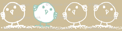 Tiny Blue Birds