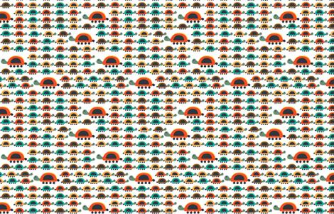 Tortuguitas fabric by gabriela_larios on Spoonflower - custom fabric