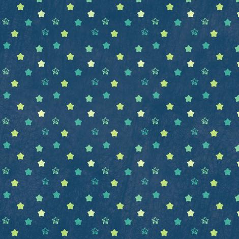 Star Ditsy Mini Vintage - Night Falls Softly - © PinkSodaPop 4ComputerHeaven.com fabric by pinksodapop on Spoonflower - custom fabric