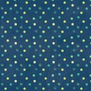 Star Ditsy Mini Vintage - Night Falls Softly - © PinkSodaPop 4ComputerHeaven.com