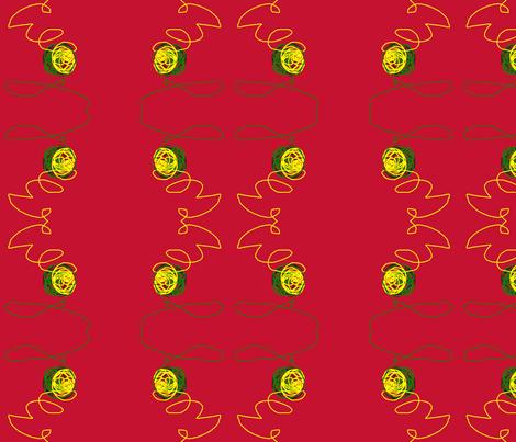 Big Ball of String fabric by robin_rice on Spoonflower - custom fabric
