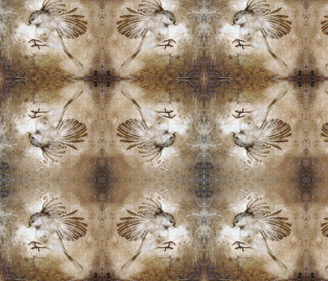 sparrow fabric by mayacaceres on Spoonflower - custom fabric