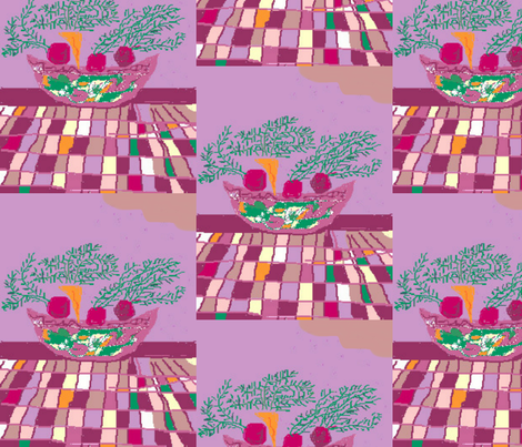 Beet Soup fabric by sherryann on Spoonflower - custom fabric