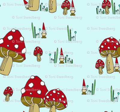 Mushrooms & Gnomes Scatter