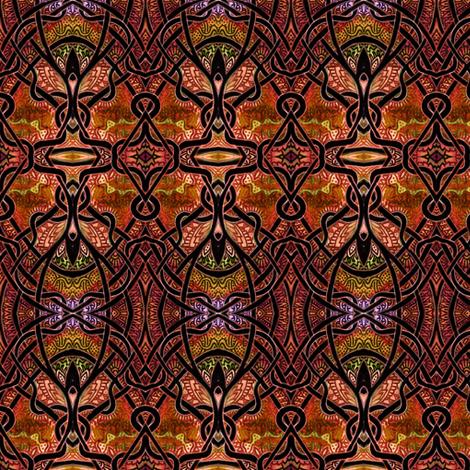 Persian Harvest fabric by edsel2084 on Spoonflower - custom fabric