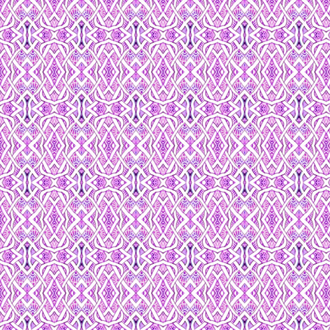 Tiny Pesudo Persian Fishnet (magenta/berry) fabric by edsel2084 on Spoonflower - custom fabric