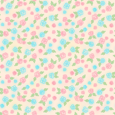 Posey Patch fabric by shirlene on Spoonflower - custom fabric