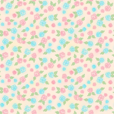 Posey Patch fabric by shirlene on Spoonflower - custom fabric