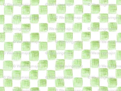 Avogadro's squares on plane white