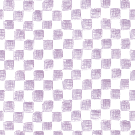 Hypatia's squares on plane white fabric by weavingmajor on Spoonflower - custom fabric