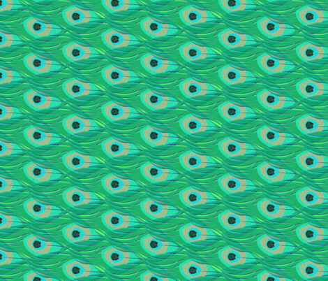 peacock_layers fabric by glimmericks on Spoonflower - custom fabric