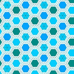Tilkkutakki (Cool Colours) A