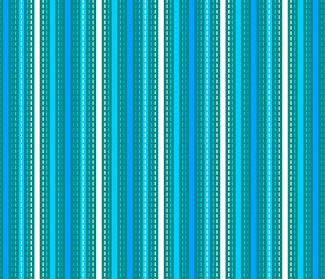 Tilkkutakki (Cool Colours) D fabric by nekineko on Spoonflower - custom fabric