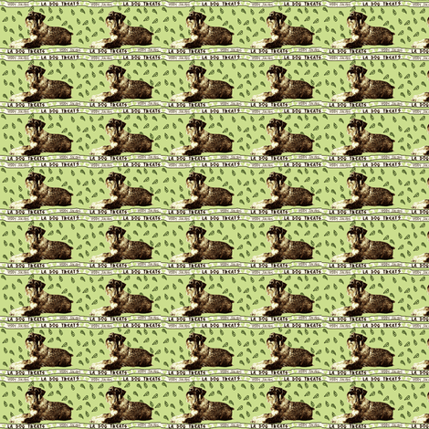 Schnauzer Bandana fabric by robin_rice on Spoonflower - custom fabric