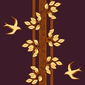 Rrleaves_and_swallows_-_gold_and_plum_shop_thumb