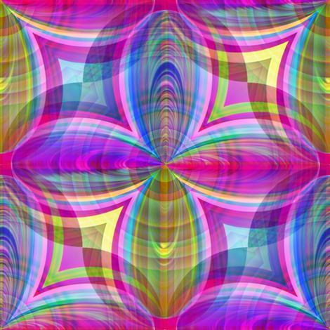 Funky Tartan Plaid Fuchsia fabric by missourah_gal on Spoonflower - custom fabric