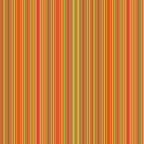 Summer Heat Stripes with Green  fabric by gingezel on Spoonflower - custom fabric
