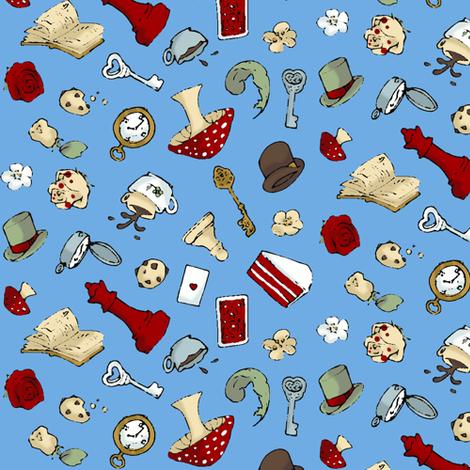Wonder Chaos fabric by shirayukin on Spoonflower - custom fabric