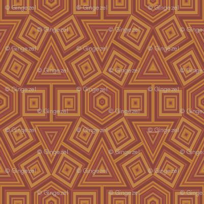 Hexagon Terracotta Tiles