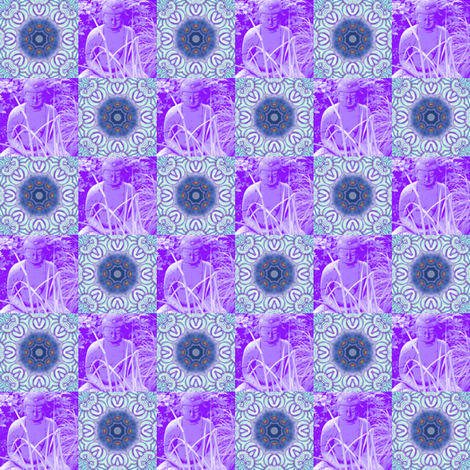 Buddha Mandalas fabric by dovetail_designs on Spoonflower - custom fabric