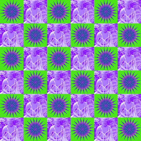 Buddha Mandala 2 fabric by dovetail_designs on Spoonflower - custom fabric