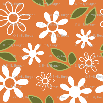 orange bloom coordinating