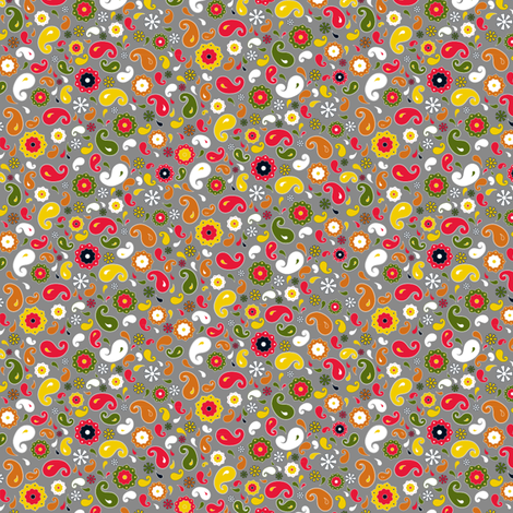 Pasley Ditsy fabric by newmomdesigns on Spoonflower - custom fabric