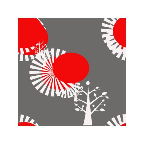 gray day fabric by cynthialish_newsom on Spoonflower - custom fabric