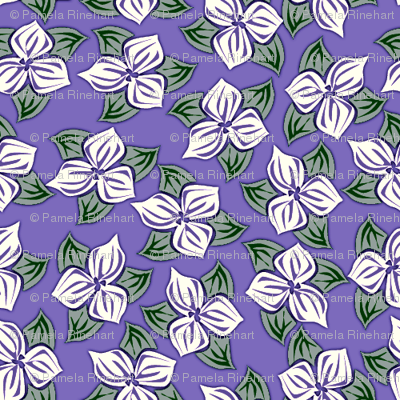 trilliated in lavender