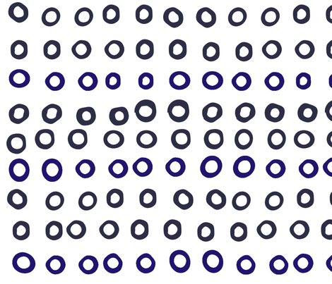 Simple dot fabric by blingmoon on Spoonflower - custom fabric