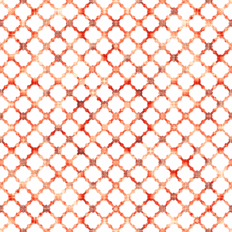 Fretwork Fire fabric by kristopherk on Spoonflower - custom fabric