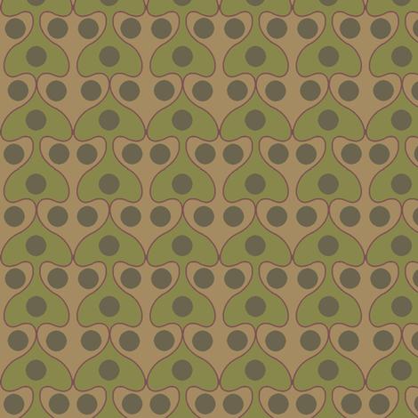 Mushroom (Moss) fabric by david_kent_collections on Spoonflower - custom fabric