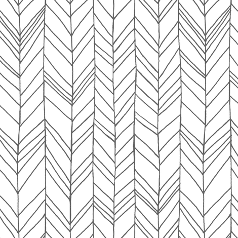 Featherland White/Gray fabric by leanne on Spoonflower - custom fabric