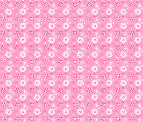 Pinky Bubble Bath fabric by eppiepeppercorn on Spoonflower - custom fabric