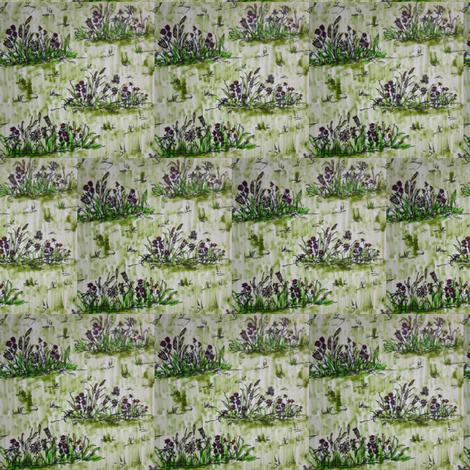 ditsy_field fabric by botanicalbeauty on Spoonflower - custom fabric