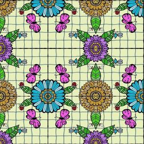 Tiled Garden - #2
