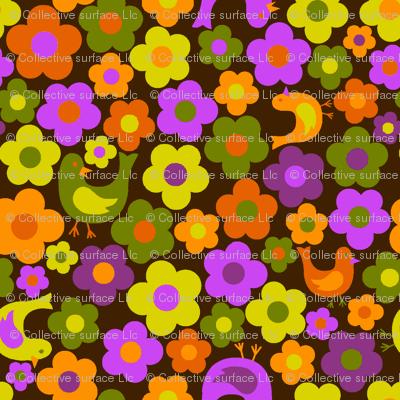 tweety bird dot flower 2