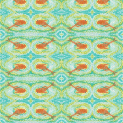 Paris Koi fabric by allida on Spoonflower - custom fabric