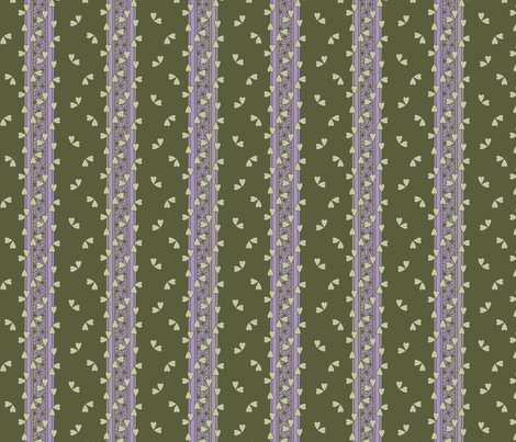 Flutter_Tree4 fabric by glimmericks on Spoonflower - custom fabric