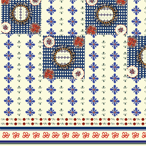 Polish_Pottery_Fabric fabric by utreviolet on Spoonflower - custom fabric