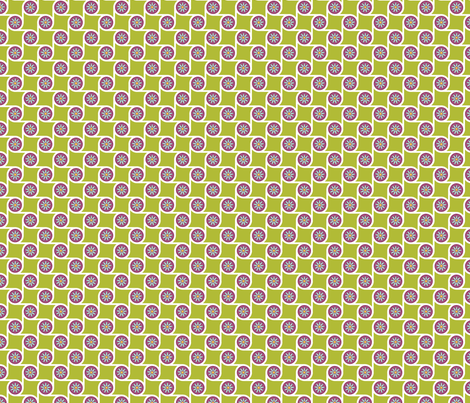 Scrolls Lime fabric by freshlypieced on Spoonflower - custom fabric