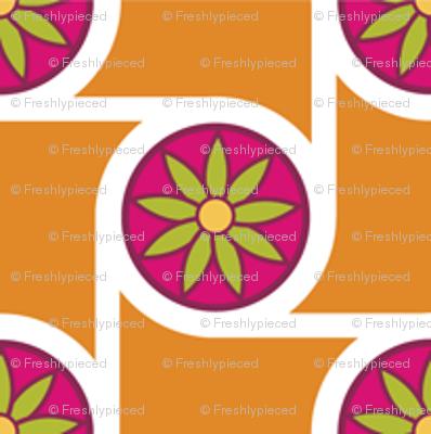 Scrolls Tangerine