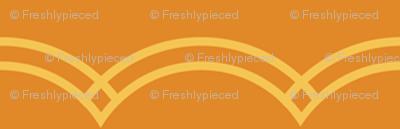 Scallop Stripe Tangerine