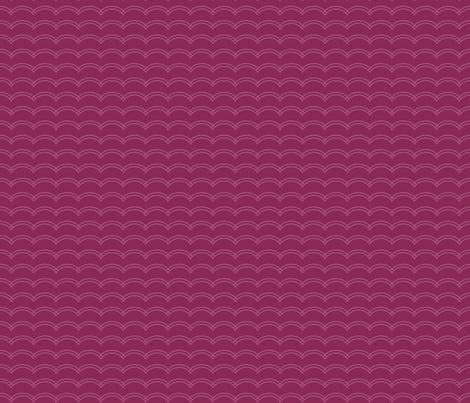Scallop Stripe Purple fabric by freshlypieced on Spoonflower - custom fabric